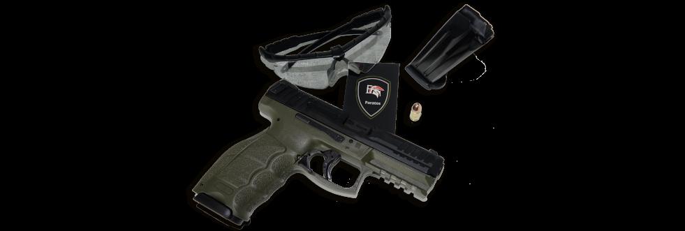 Kurzwaffentraining Ausrüstungsgegenstände - FFS Paratos Köln